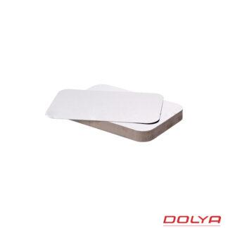 Крышка SP62L, 110 мм*210 мм, картон-алюминиевая, 100 шт./уп. (арт. 15035)