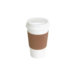Термочехол для бумажных стаканчиков, 100 шт./уп. (арт. 16033)