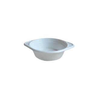Миска белая, объем 500 мл, 100 шт./уп. (арт. 17008)
