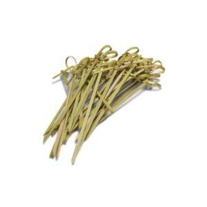 Украшение «шпажка с узелком», 9 см ( 100 шт./уп. )