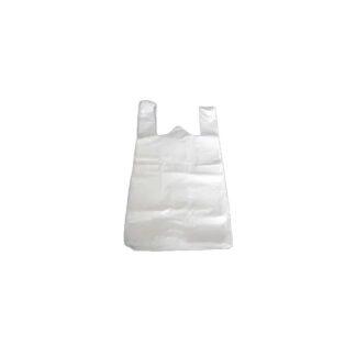 Пакет майка, белый, 30*50 см, 14 мкм ( 100 шт./уп. )