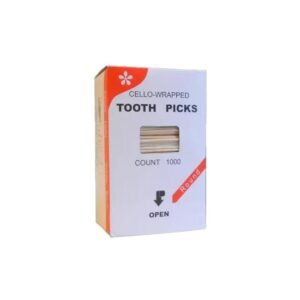 Зубочистки в бумажной упаковке (1000 шт./уп.)