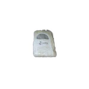 Тряпка-запаска для швабры с хромированной ручкой, длина 40 см (арт.44026)