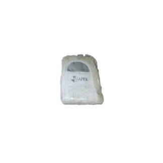 Тряпка-запаска для швабры с хромированной ручкой, длина 40 см (арт. 44026)