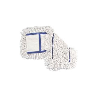 Тряпка-запаска для швабры с хромированной ручкой, длина 60 см (арт. 44027)