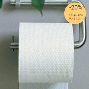 Туалетная бумага «Джамбо», 1-но слойная, макулатурная, серая 130 м, 8 шт./уп. (арт.10003)