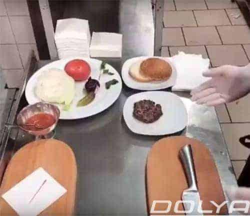 Готовим еду в латексных перчатках фирмы «DOLYA».