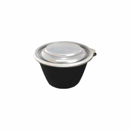 Крышка для супницы СП К-144, прозрачная, 500 - 750 мл, 50 шт./уп., 6 уп./ящ. (арт. 15085)
