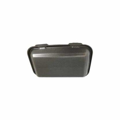 Ланч-бокс без делений с крышкой HP-10, 240 мм*155 мм*70 мм, объем 1300 мл, полистирол, черный, 250 шт./уп. (арт.15094)
