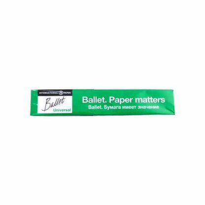 Офисная бумага А4, Ballet Universal, плотность 80 г/м2, 500 лист./шт. (арт.45001)