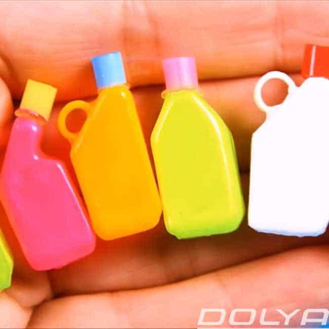 Миниатюрные моющие бутылки