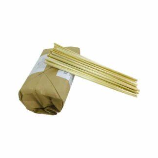 Эко трубочки для коктейлей,с камыши, 20 см, 50 шт./уп. (арт.19028)