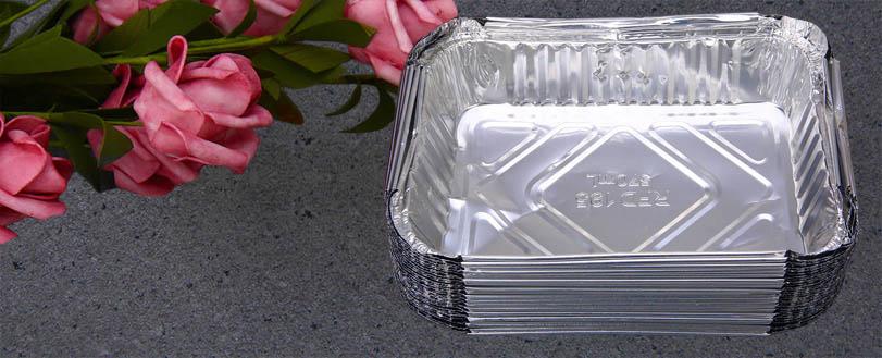 Контейнера алюминиевые для еды