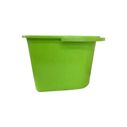 Ведро прямоугольное, пластиковое, 14 л, шт. (арт.44052)