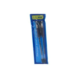 """Ручки шариковые масляные """"BuroMax"""", 0.7 мм, синие, 2 шт./уп. (арт.45142)"""