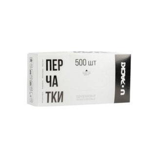 Перчатки разовые РЕ в коробке, 500шт / уп (арт. 31080)