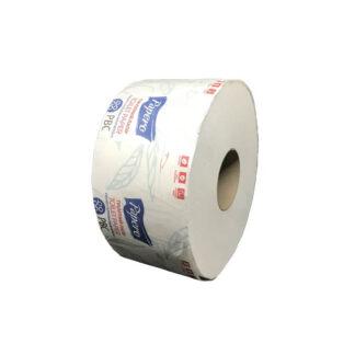 """Туалетная бумага """"Джамбо"""" двухслойная, целлюлозная, белая, TJ033 (12 шт / уп) 90м. (арт. 10034)"""