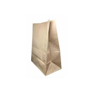 Пакет бумажный 210 * 100 * 50мм, без ручек, бурый (арт. 27062)