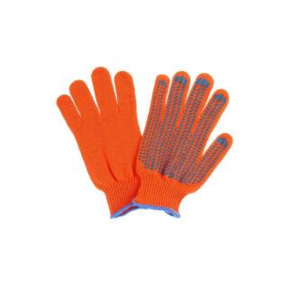 """Перчатки Х / Б """"Рубижтекс"""" из пвх покрытием, 1 пара, оранжевые (арт. 31189)"""