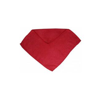 """Микрофибра """"HOZZI"""" Универсальная, 30х30 см, Красная, 5 шт / пач (арт. 32083)"""